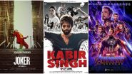 Kabir Singh, Avengers: Endgame, Joker Top The Most-Searched Movies in Google Year in Search 2019 India List