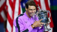 Rafael Nadal Pulls Out of US Open 2020, Says 'COVID-19 Cases Increasing'