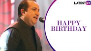 Rahat Fateh Ali Khan Birthday: Tere Mast Mast Do Nain and Other Bollywood Songs by the Singer That Are Everlasting! (Watch Videos)