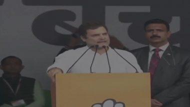 'Bharat Bachao' Rally: 'I'm Not Rahul Savarkar, Will Never Apologise', Says Rahul Gandhi on 'Rape in India' Remark Row
