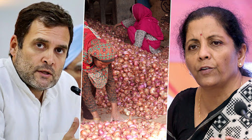 'Nirmala Sitharaman Incompetent, Her Job Not to Tell Nation What to Eat': Rahul Gandhi Furthers Tirade Against FM Over Onion Remark