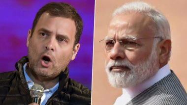 Rahul Gandhi Does a Tit For Tat, Tweets Video Clip of Narendra Modi Saying 'Delhi Has Been Made Rape Capital', Demands Apology From PM For the Speech