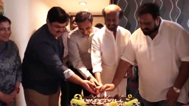 Thalaivar 168: Superstar Rajinikanth Celebrates His 69th Birthday with Director Siva and Team (Watch Video)