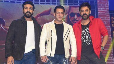 Dabangg 3: Ram Charan, Salman Khan, Venkatesh Daggubati Dance to Munna Badnaam Hua and Set the Stage on Fire (Watch Video)
