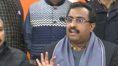 Article 370: BJP General Secretary Ram Madhav Says '30-32 Prominent Leaders Continue to be Under Detention in Jammu and Kashmir'