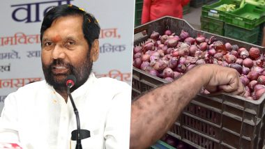 Onion Rising Prices: Criminal Complaint Registered Against Ram Vilas Paswan at Court of Muzaffarpur CJM