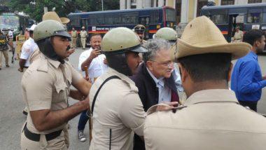 Ramachandra Guha Detained During Protest Against Citizenship Amendment Act in Bengaluru