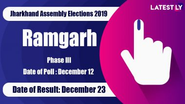 Ramgarh Vidhan Sabha Constituency in Jharkhand: Sitting MLA, Candidates For Assembly Elections 2019, Results And Winners