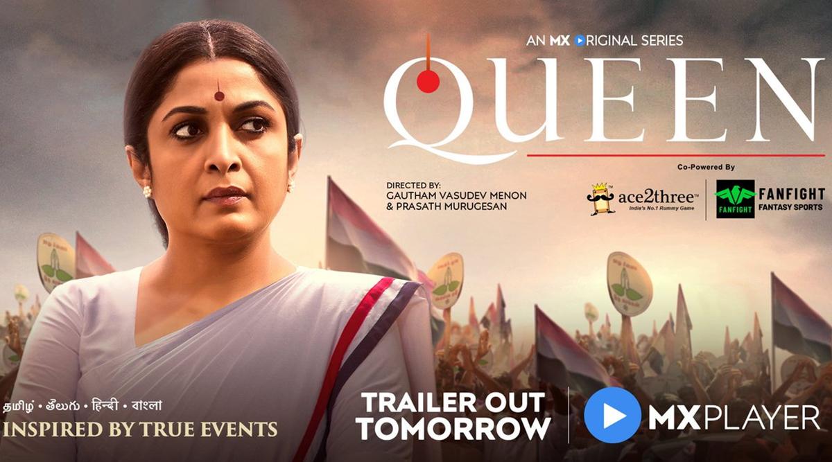 Queen: Ramya Krishnan As CM Jayalalithaa Looks Impressive!