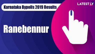 Ranebennur Bypoll 2019 Result For Karnataka Assembly Live: Arunkumar Guththur of BJP Leading