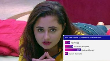 Bigg Boss 13: Rashami Desai Should Be Kicked Out of Salman Khan's Reality Show, Declare Fans (Poll Result Inside)