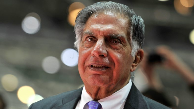 Ratan Tata Dismisses Fake News of Purchasing 50 Percent Stake in Mumbai Teenager's Startup 'Generic Aadhar'