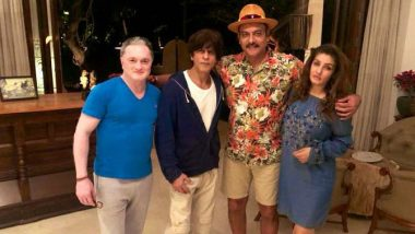 Ravi Shastri Enjoys a Night Out with Shah Rukh Khan, Raveena Tandon Before New Year's Eve