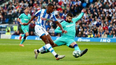 La Liga 2019-20: Barcelona Pegged Back by 2-2 Real Sociedad After Marc-Andre ter Stegen Error, Real Madrid Get the Chance to Go Top of the Table