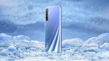 Realme X50 5G Smartphone Official Poster & Live Image Emerges Online Ahead of Launch; Confirms Side-Mounted Fingerprint Scanner