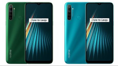 Realme 5i Smartphone With Quad Rear Cameras To Be Launched on January 6; Expected Price, Features, Specifications