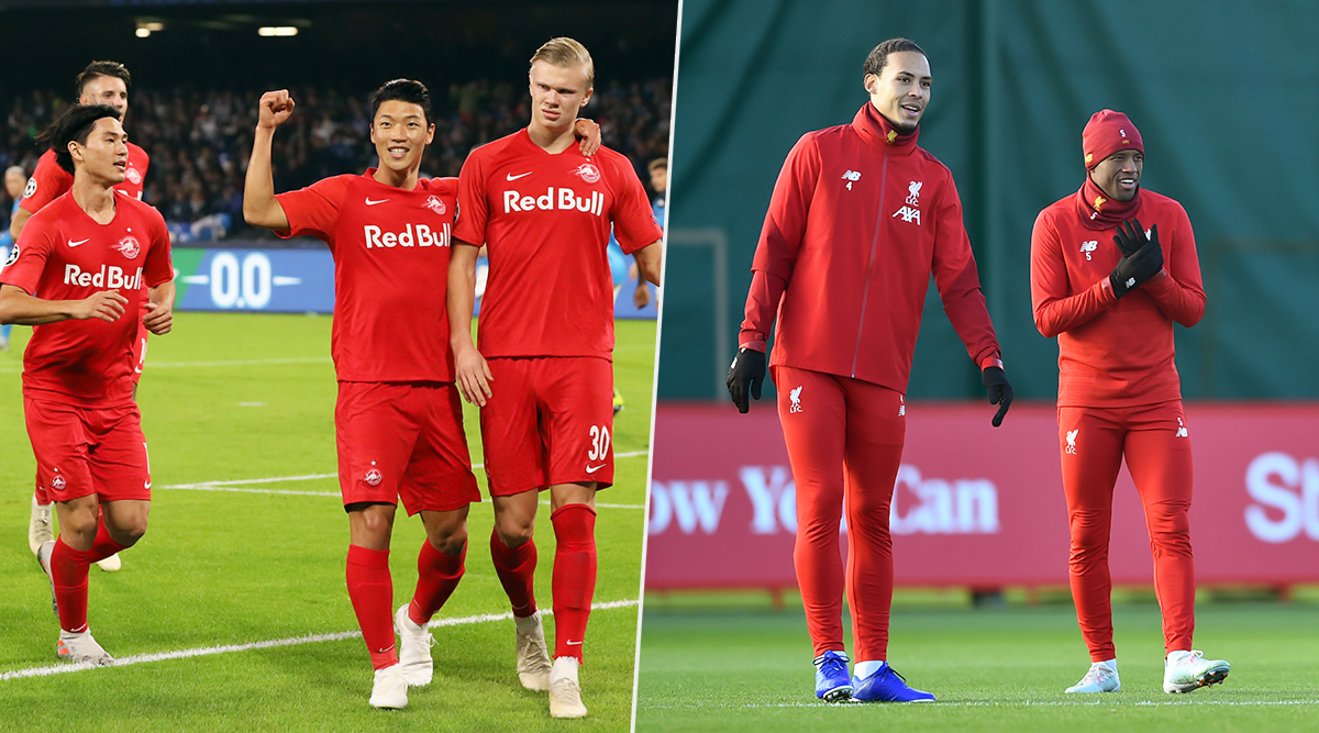 Red Bull Salzburg vs Liverpool, UEFA Champions League Live Streaming Online: Where to Watch CL 2019–20 Group Stage Match Live Telecast on TV & Free Football Score Updates in Indian Time?