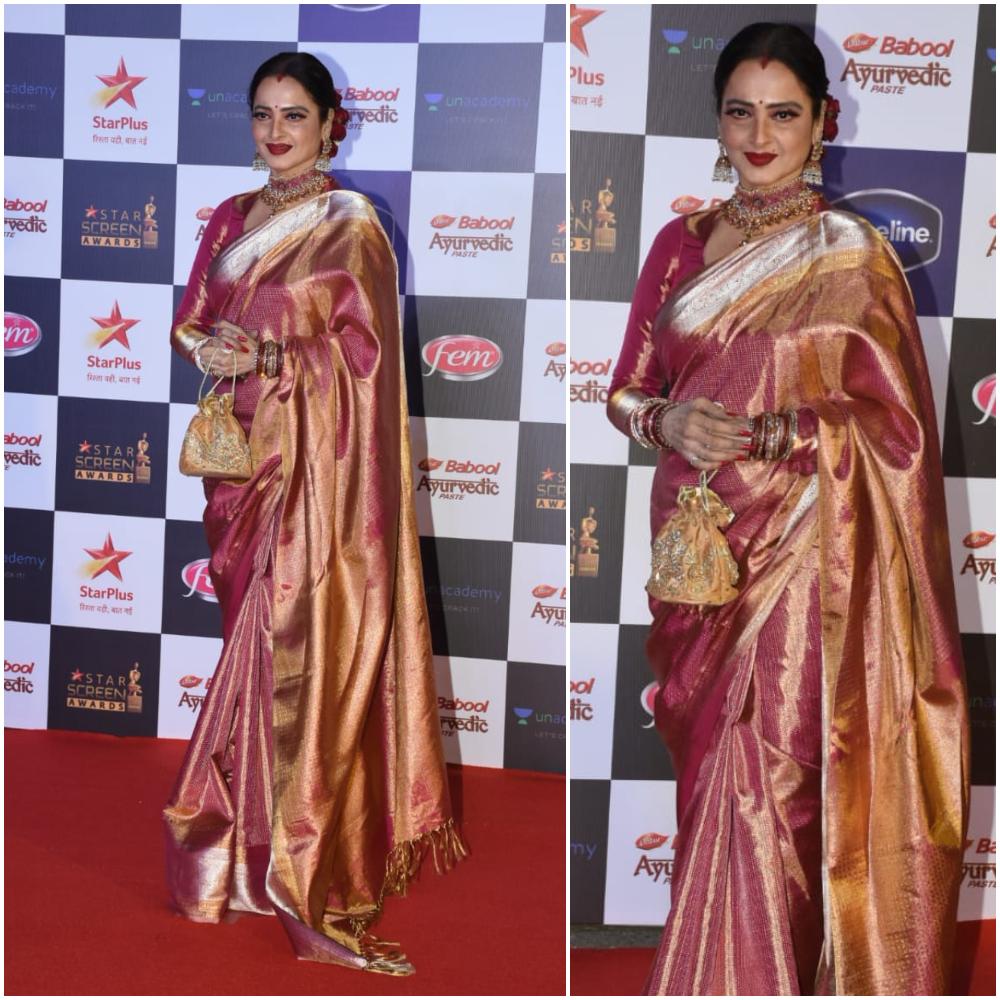 Rekha at Star Screen Awards 2019 (Photo Credits: Yogen Shah)