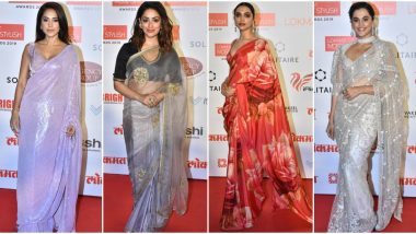 Lokmat Most Stylish Awards 2019: Deepika Padukone, Taapsee Pannu, Yami Gautam Take their Love for Six Yards a Notch Higher (View Pics)