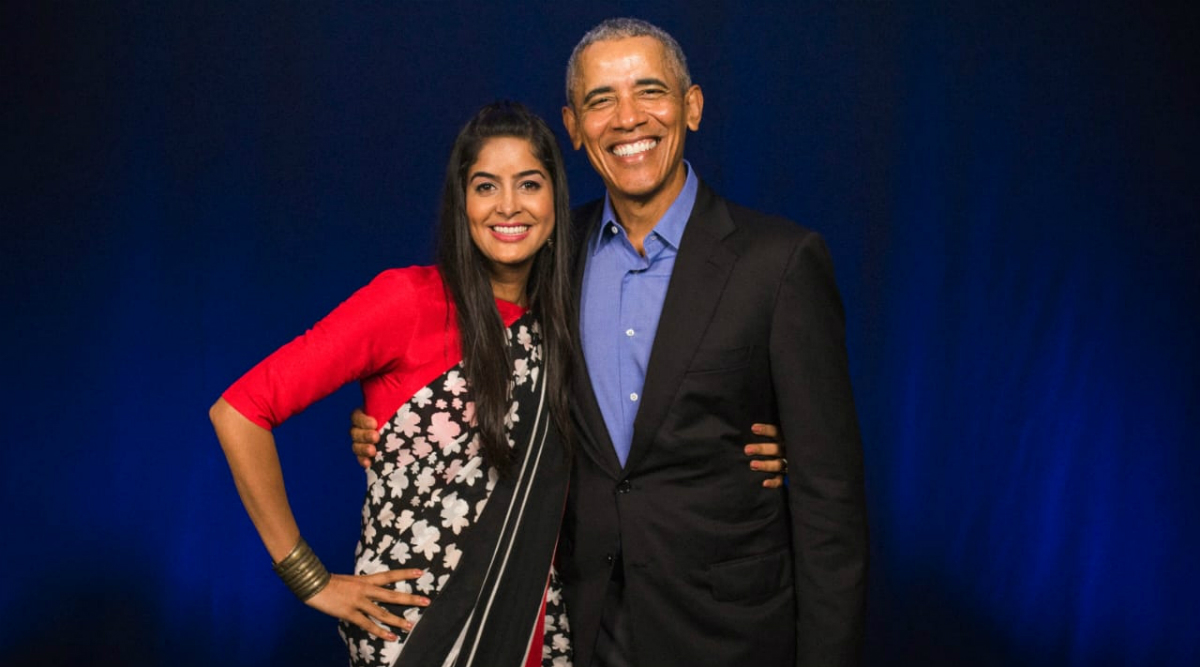 When Indian YouTuber 'Rickshawali' Anisha Dixit Met Ex-US President Barack Obama (View Pic)