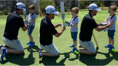 Ricky Ponting Joins Twitter, Shares Pictures with His Son!