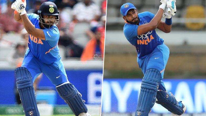 Rishabh Pant and Shreyas Iyer Hit Half-Centuries, Twitterati Laud Their 100-Run Partnership During India vs West Indies 1st ODI 2019