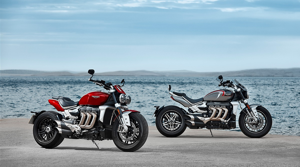 2020 Triumph Rocket 3 Motorcycle Launched in India at Rs 18 Lakh; Prices, Features, Specifications & More