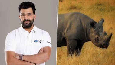 Rohit Sharma Once Again Bats for Rhino Conservation in India, See Indian Cricketer's Tweet