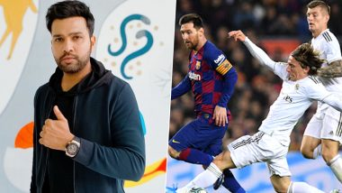 Rohit Sharma Reacts to First El Clasico Draw in 17 Years! 'Intense, Magnificent but Fair Result', Says La Liga India Brand Ambassador