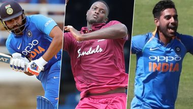 India vs West Indies, 1st T20I 2019, Key Players: Rohit Sharma, Jason Holder, Deepak Chahar and Other Cricketers to Watch Out for in Hyderabad