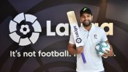 Rohit Sharma Named As New Brand Ambassador for La Liga in India