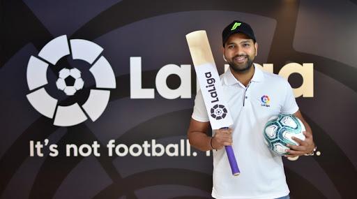 Rohit Sharma Named As New Brand Ambassador for La Liga in India