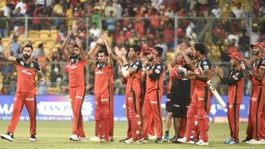 Royal Challengers Bangalore Pay Tribute to Coronavirus Frontline Workers, Plan to Wear 'COVID Heroes' Jersey During SRH vs RCB, Dream11 IPL 2020 Match 3 (Watch Video)