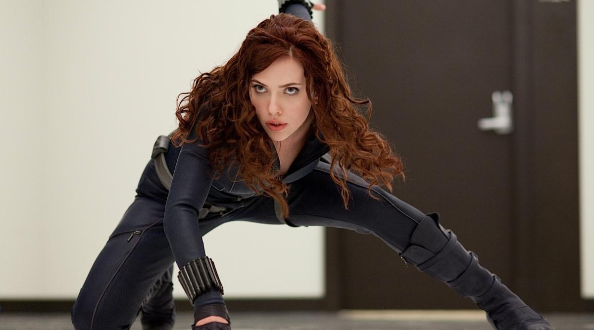 Scarlett Johannson in Iron Man 2