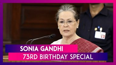 Sonia Gandhi Birthday Special: Lesser-Known Facts About The Congress President As She Turns 73