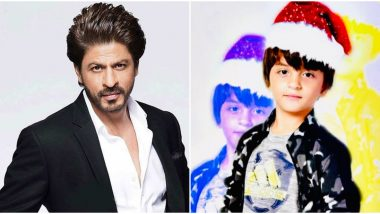 Shah Rukh Khan Continues to Maintain His Silence on Anti-CAA Protests, Tweets Christmas Wishes Instead With AbRam's Picture