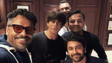 Shah Rukh Khan Meets Malayalam Director Aashiq Abu at Mannat, Has the Superstar Finally Signed His Next?