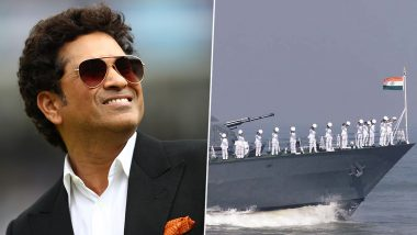 Indian Navy Day 2019: Sachin Tendulkar Shares Heart-Warming Twitter Post, Thanks Naval Personnel for Their Service to Nation