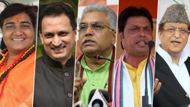 Year-Ender 2019 on Motormouth Politicians: From Pragya Thakur to Azam Khan, List of 5 Indian Netas Who Sparked Controversies With Their Remarks