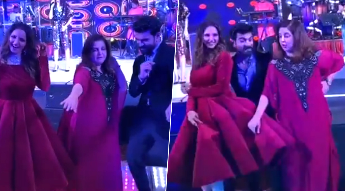 Ram Charan, Farah Khan and Sania Mirza Dance Like No One's Watching on Hrithik Roshan's Ghungroo Song and the Video is Too Fun to Miss!