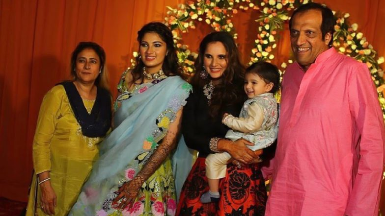 Anam-Asad Pre-Wedding Pics Out! Sania Mirza Shares Beautiful Family Photos Ahead of Her Sister's Marriage With Mohammad Azharuddin's Son