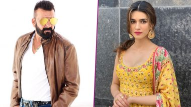 Sanjay Dutt Would Like to See Panipat Co-star Kriti Sanon as His '309th Girlfriend!'