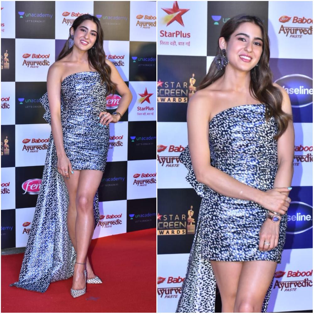 Sara Ali Khan at Star Screen Awards 2019 (Photo Credits: Yogen Shah)