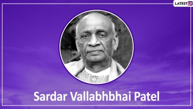 Sardar Vallabhbhai Patel Death Anniversary: Remembering The 'Iron Man of India' Through His Quotes