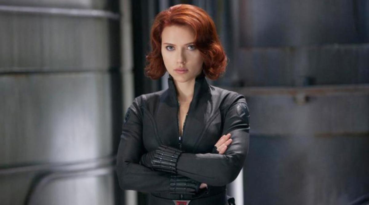 Scarlett Johannson in The Avengers