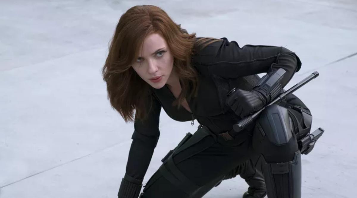 Scarlett Johansson in Captain America: Civil War
