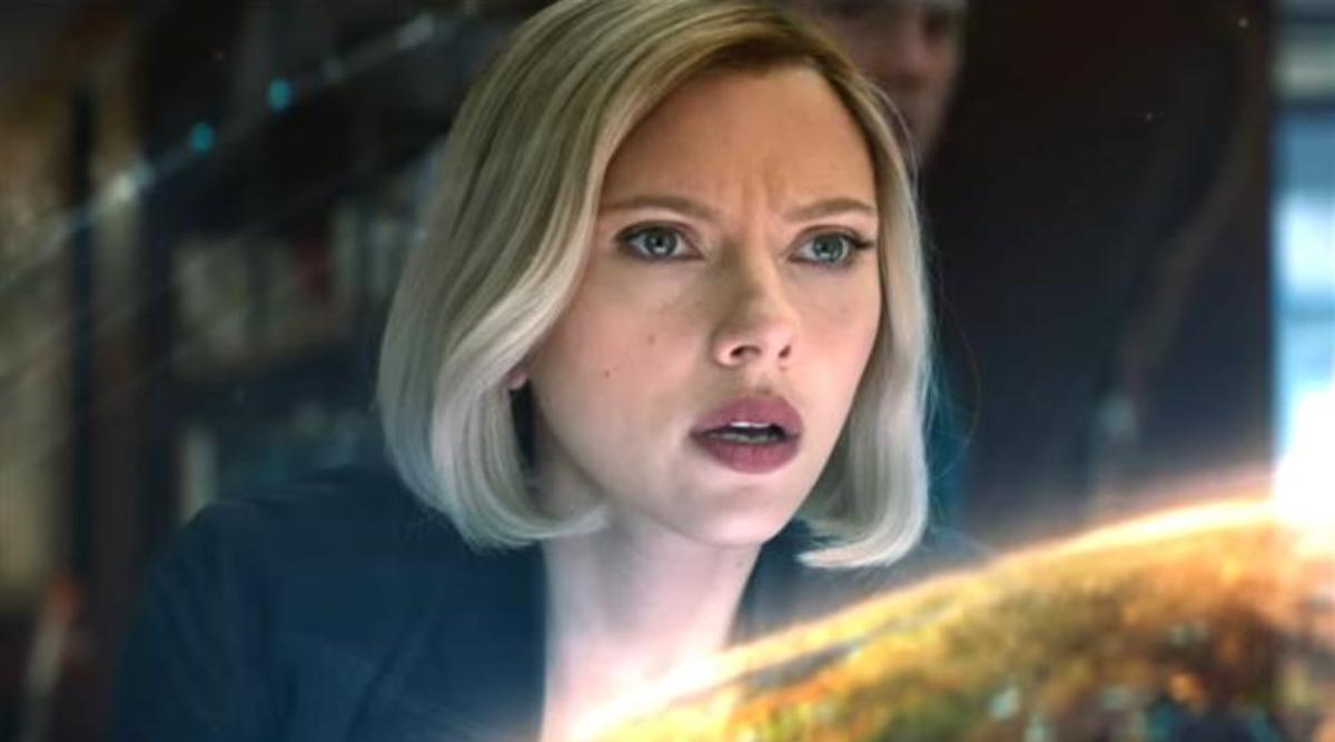 Scarlett Johansson in Avengers: Infinity War.
