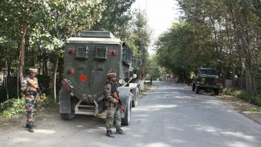 Jammu & Kashmir: Three Militants Killed in Encounter by Security Forces in Sopore