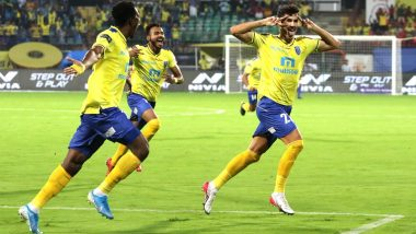 Sergio Cidoncha Scores Fastest Goal of Indian Super League 2019–20, Scripts History in 61 Seconds During Kerala Blasters vs FC Goa ISL Match