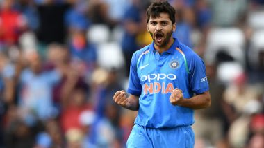 Shardul Thakur's Unexpected Cameo Helps India Register Four-Wicket Victory Against West Indies in 3rd ODI 2019, Twitterati Go Frenzy to Hail the Pacer